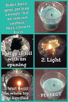 How to fix your Partylite jar candles