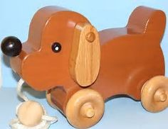 Image result for Wooden Dog Pull Toy Plans