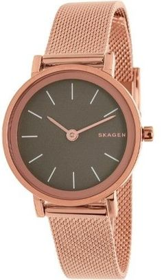 Skagen Women's Hald SKW2470 Rose Gold Tone Stainles-Steel Quartz Dress Watch