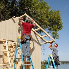 Add Overhangs to Protect Shed Siding