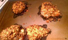 Honey Pecan Crusted Chicken