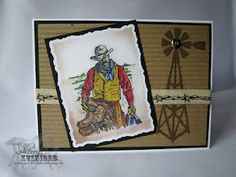 Retired Wild Wild West stamp - hoping Stampin' Up will bring it back