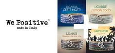 I nuovi bracciali We Positive con le Frasi di Ligabue!