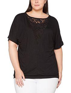 S-5XL Damen Sommer 3//4 Arm Side Bow Freizeit Lose Tops Tee Shirt Bluse Plus Size