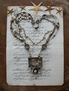 Jane Wynn   Bird-head reliquary pendant with ancient bronze heart ring clasp