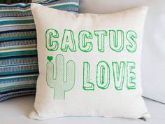 Oreiller de cactus | Coussin succulente | Dortoir Decor | Vert coussin | Decor…