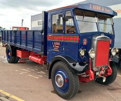 why not visit www.facebook.com/bonkersabouttrucks? Antique Trucks, Vintage Trucks, Old Trucks, Classic Trucks, Classic Cars, Old Lorries, Army Vehicles, Commercial Vehicle, Car Brands