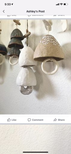 Hand Built Pottery, Slab Pottery, Paper Clay, Clay Art, Diy Clay, Clay Crafts, Ceramic Jewelry, Ceramic Art, Organic Ceramics
