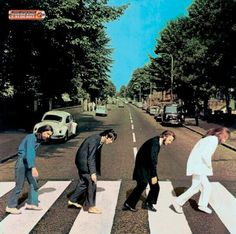 Monday Morning, Beatles recreation, funny photograph; Upcycle, Recycle, Salvage, diy, thrift, flea, repurpose!  For vintage ideas and goods shop at Estate ReSale & ReDesign, Bonita Springs, FL