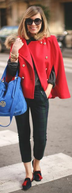 #Red #Cape by My Showroom Blog