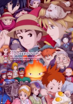 Howl's Moving Castle ~Loved both the movie and the book, even though they were almost totally different.