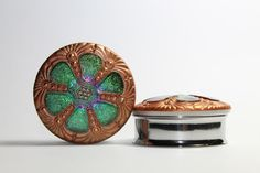 Hey, I found this really awesome Etsy listing at https://www.etsy.com/listing/187211346/green-and-gold-window-plugs-gauges-1-38