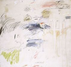 Cy Twombly Gallery 1960-72