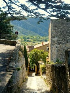 Or possibly Bonnieux, Provence France for our countryside stop? Luberon Provence, Provence France, Oh The Places You'll Go, Places To Travel, Places To Visit, Wonderful Places, Beautiful Places, Beaux Villages, French Countryside