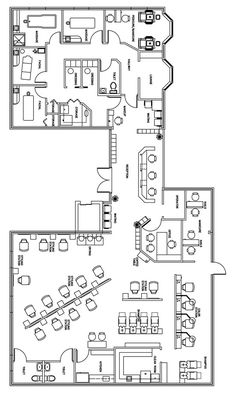 Like the facial and massage wing. Beauty Salon Floor Plan Design Layout - 3406 Square Foot