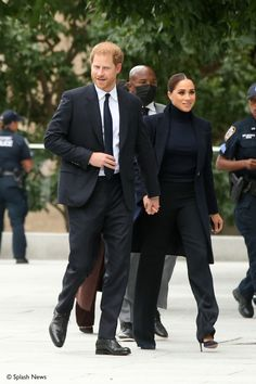 Meghan and Harry Pay a Visit to One World Observatory in New York City