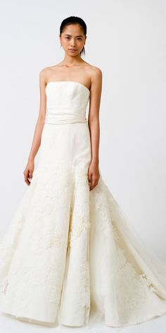 Vera Wang Gowns For A Rustic Wedding