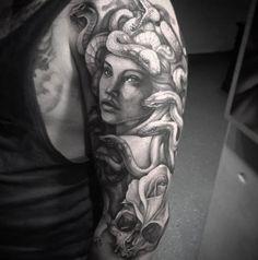 Medusa Tattoos | Inked Magazine