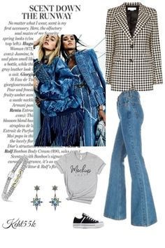 Capri, Jeans, Blues, Shirts, City, Polyvore, Image, Collection, Fashion
