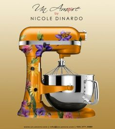 My dream mixer to be by @Nicole Dinardo from un-amore.com