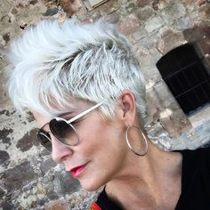 Just wanted to share a few tidbits about my hair! It seems I've talked about it SO much already, but… The post More About My HAIR… appeared first on Chic Over Winter Hairstyles, Pixie Hairstyles, Pixie Haircut, Chic Over 50, Pelo Pixie, Blonde Pixie, Hair Dos, Short Hair Cuts, New Hair
