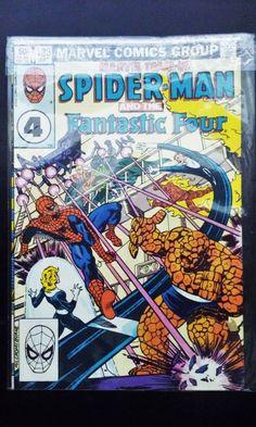 VERY RARE SPIDERMAN FANTASTIC FOUR MARVEL TEAM UP BRONZE AGE SAL BUSCEMA! 1983