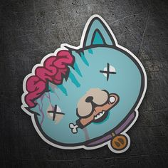 Pegatinas: Killer Cat #coche #pegatina #sticker