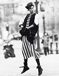 The Miss Vogue: Street Dance Photoshoot is Effortlessly Elegant #editorials trendhunter.com