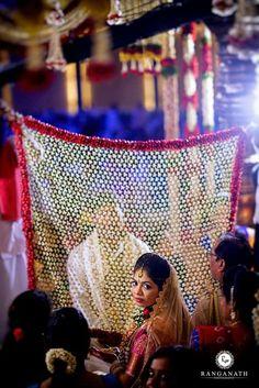 New jewerly photography ideas backgrounds photo backdrops 45 ideas Desi Wedding Decor, Wedding Hall Decorations, Wedding Stage Design, Marriage Decoration, Wedding Mandap, Telugu Wedding, Wedding Card, Indian Wedding Flowers, Flower Garland Wedding
