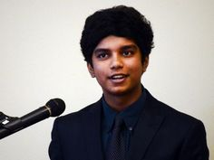 "ANI Oratorical contest Abishek Stanley, a Pineville High School student, won th boys' portion of the Alexandria Optimist Club's annual oratorical contest held Thursday, Feb. 26, 2015 at the Westside Regional Library. The subject of the contest was ""How My"