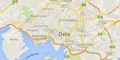 Map Oslo