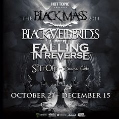 GUYS IM GOING FALLING IN REVERSE IS JOINING THIS TOUR AND MY TICKETS ARE ONE OF THE DAYS THEY ARE ON IT OMG OMG OMG