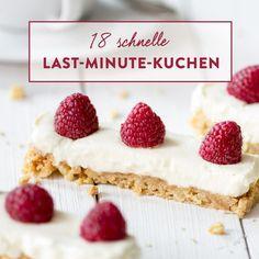 Schneller Schoko-Kirsch-Kuchen vom Blech Cheesecake, Blue Berry Muffins, Blondies, Vanilla Cake, Cookie Recipes, Blueberry, Raspberry, Low Carb, Deserts