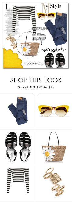 """""""Yellow"""" by violin-player-12 ❤ liked on Polyvore featuring Cheap Monday, Dolce&Gabbana, Truffle, Kate Spade and Topshop"""