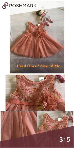 818aa1ce547b Dress for little baby only once was it used