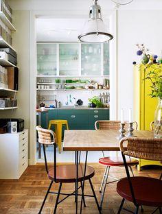 dining room / elle decoration