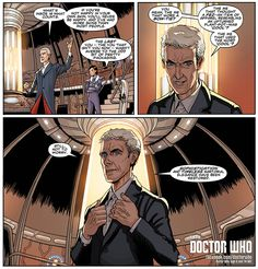 Doctor Who  Get an exclusive peak at the new Twelfth Doctor comic book from Titan Comics. Debuting at New York Comic Con this week >> http://bbc.in/1xWlnVA