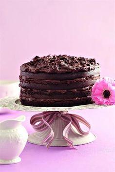 SA se njammieste sjokoladekoek - World Cuisine Audition Sweet Pie, Sweet Tarts, Chocolate Peanut Butter, Chocolate Desserts, Beautiful Cakes, Amazing Cakes, Cake Cookies, Cupcake Cakes, Cupcakes