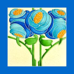 131 Art Nouveau tile by T.R.Boote (1906). Courtesy of Robert Smith from his book…