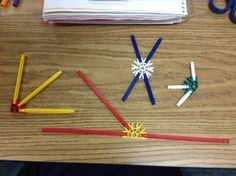Use Knex to study angle relationships.