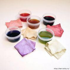 Hervorragend Färben mit Obst und Gemüse Farbstoffe für Stoffe und Garn zu machen RO76