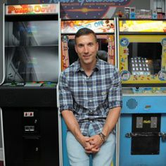 I can't lie am crushing pretty hard on this geek man boy cutie!  I'd be OK with a home arcade if he had a 2 bedroom but a studio .... ehhh Man Creates Video-Game Bedroom, Kills Sex Life