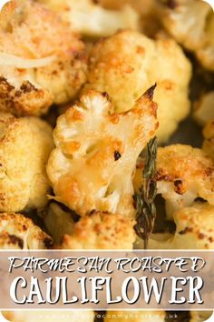 Side dish recipes 654499758331860792 - This Cauliflower is roasted with garlic, thyme and parmesan. Bursting with flavour and easy to make, this Parmesan Roast Cauliflower makes the perfect side dish! Source by Veggie Side Dishes, Side Dishes Easy, Vegetable Dishes, Side Dish Recipes, Food Dishes, Dinner Recipes, Side Dishes With Steak, Roast Dinner Side Dishes, Sides For Dinner