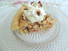 Cracker Pie - This is a simple pie with simple ingredients and it's easily altered to suit whatever you have on hand.