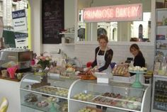 Primrose Bakery in London - another vintage bakery. What is about vintage bakeries that attract me to them?