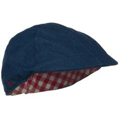 Child Denim Duckbill Cap - Blue