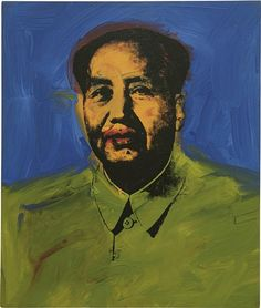 """Mao"", 1973 / Andy Warhol (1928-1987)♦️More Pins Like This At FOSTERGINGER @ Pinterest"
