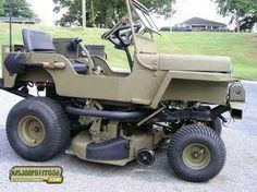 Jeep Mower !