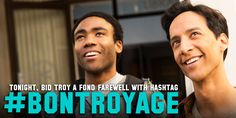 PLEASE TAKE THIS PINTEREST PIN AND GO NUTS: Say Goodbye to Troy with this icon and #BonTroyage