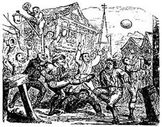 Life for peasants in the Middle Ages was difficult, to say the least - Medieval peasant jobs could often involve long hours of back-breaking labor in less than. Rugby, History Of Soccer, Medieval Peasant, Gloucester Cathedral, Medieval Life, Football Match, School Football, 12th Century, Historian